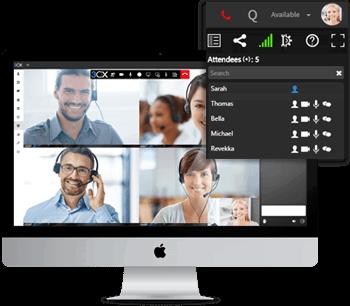 video telefonie gehostete telefonanlage