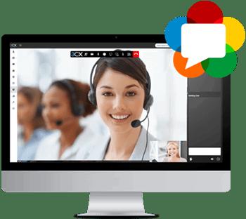 webmeeting gehostete telefonanlage